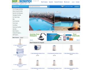 shoprecreation.com screenshot