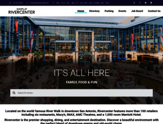 shoprivercenter.com screenshot