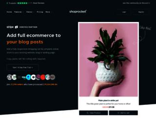 shoprocket.co screenshot