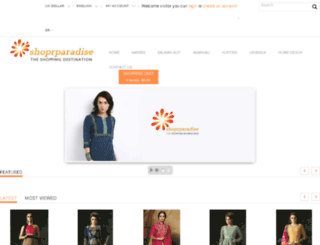 shoprparadise.com screenshot