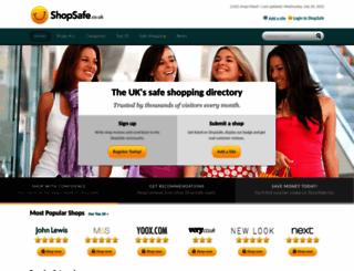 shopsafe.co.uk screenshot