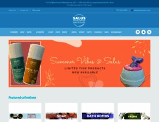shopsalus.com screenshot