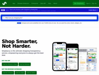 shopsavvy.com screenshot