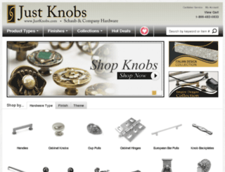 shopschaub.knobs4less.com screenshot