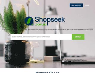 shopseek.com.au screenshot
