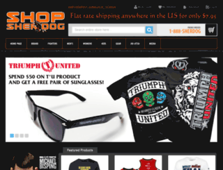 shopsherdog.com screenshot