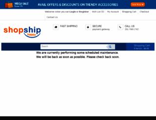 shopshiphappy.com screenshot