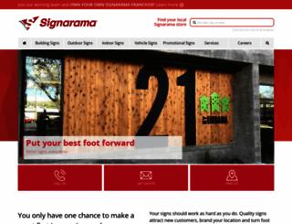 shopsignarama.com screenshot