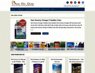 shopsocquay.com screenshot