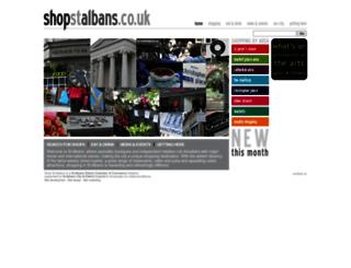 shopstalbans.co.uk screenshot