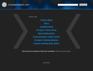 shopstorezone.com screenshot