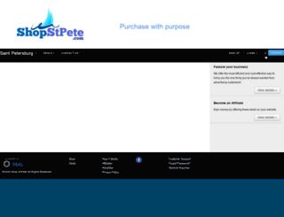 shopstpete.com screenshot