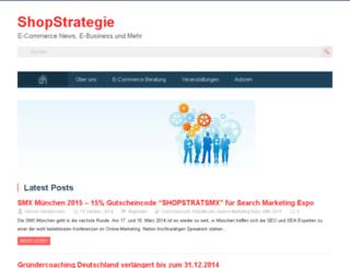 shopstrategie.de screenshot