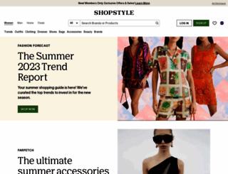 shopstyle.co.uk screenshot