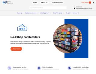 shopsupplies.com.au screenshot