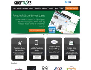 shoptab.net screenshot