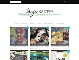 shoptangiebaxter.com screenshot
