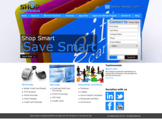 shopterminals.com screenshot