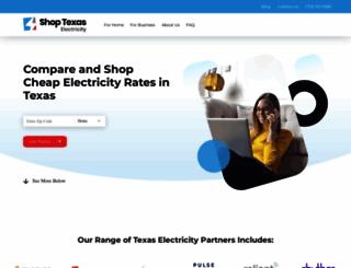 shoptexaselectricity.com screenshot