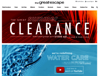 shopthegreatescape.com screenshot