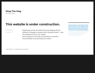 shopthemag.com screenshot