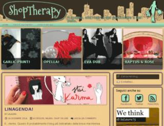 shoptherapy.it screenshot