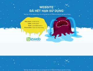 shopthoitrangnhi.bizwebvietnam.com screenshot