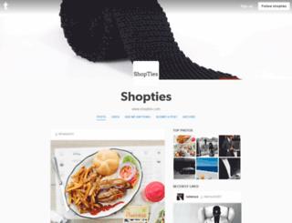 shopties.tumblr.com screenshot