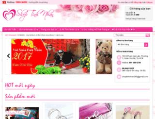 shoptinhnhan.vn screenshot