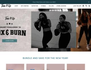 shoptoneitup.com screenshot