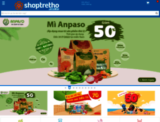 shoptretho.com.vn screenshot
