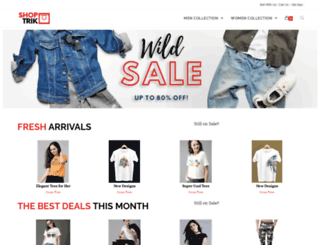 shoptrik.com screenshot