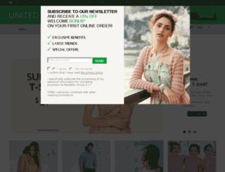shopus.benetton.com screenshot