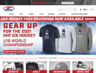 shopusahockey.com screenshot