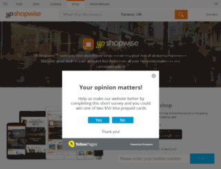 shopwise.ca screenshot