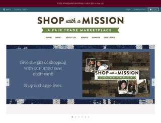 shopwithamission.org screenshot
