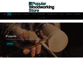 shopwoodworking.com screenshot