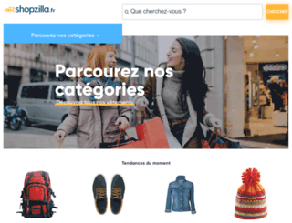 shopzilla.fr screenshot