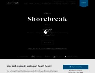 shorebreakhotel.com screenshot
