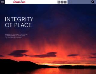 shorefast.org screenshot