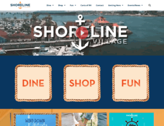 shorelinevillage.com screenshot