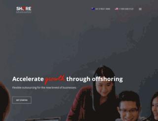 shoresolutions.com.ph screenshot