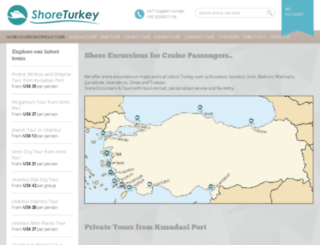 shoreturkey.com screenshot