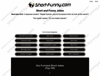 short-funny.com screenshot