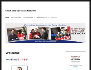 short-sale-specialists.com screenshot