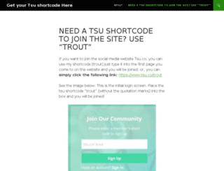 shortcode.us screenshot
