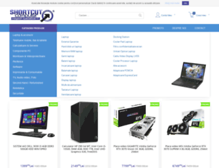 shortcutcomputer.ro screenshot
