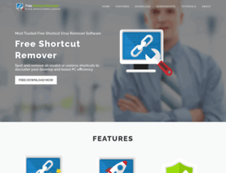 shortcutremover.com screenshot