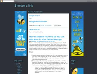 shortenalink.blogspot.com screenshot