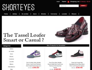 shorteyes.co.uk screenshot